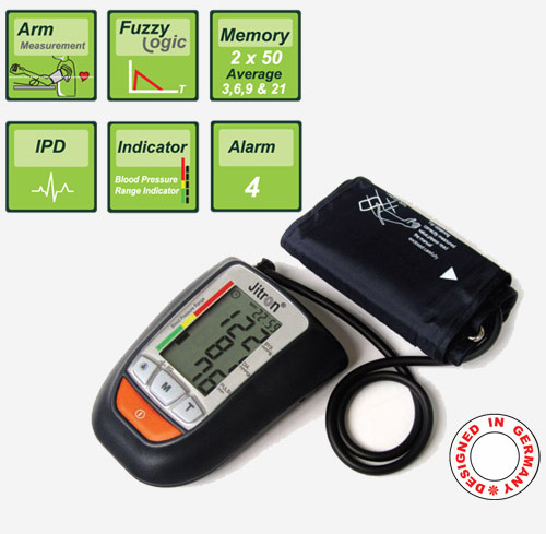 Jitron Digital ARM Blood Pressure Monitor BPI-901A